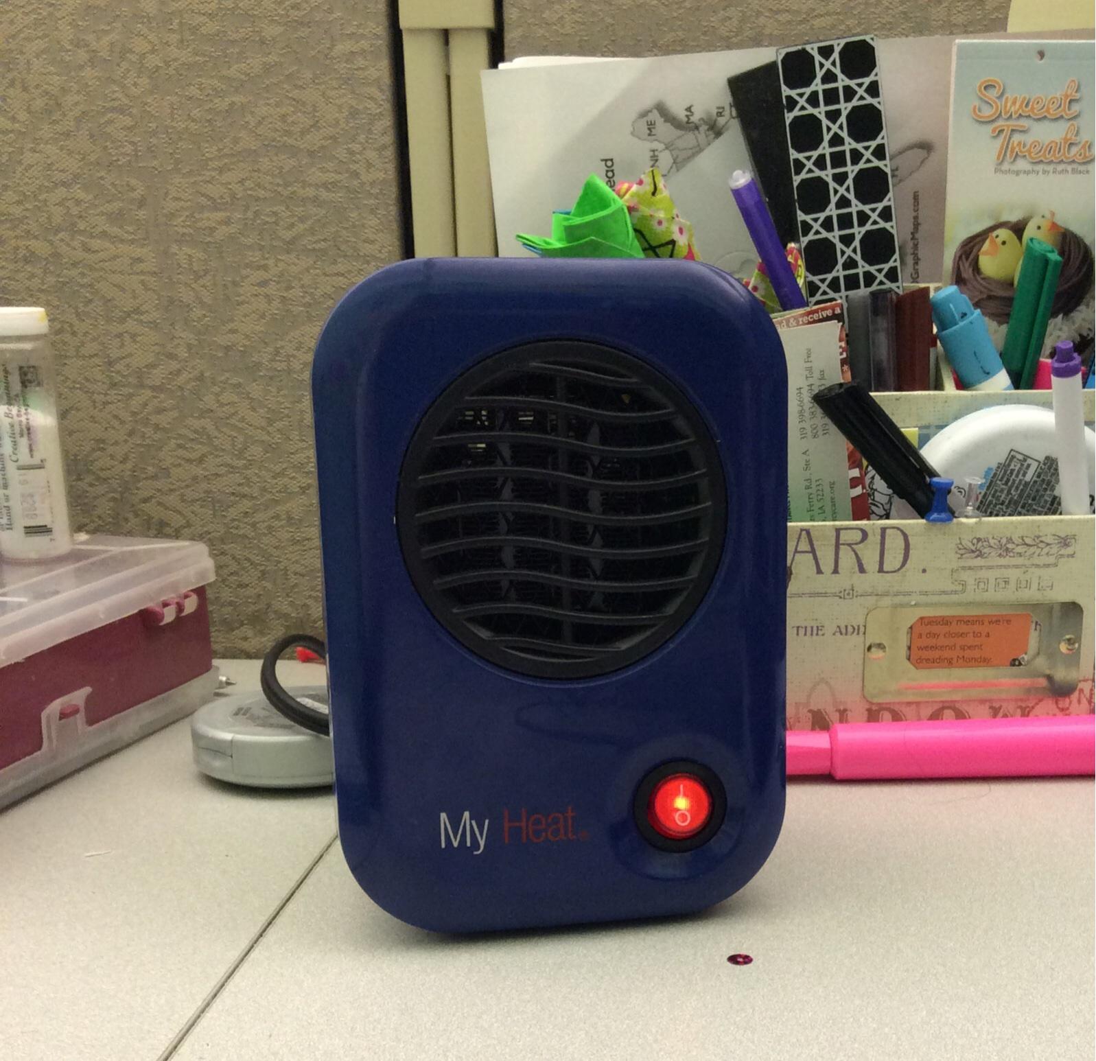 Product Review My Heat Lasko Desk Heater