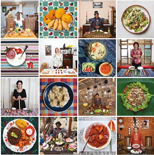 Review in her kitchen stories and recipes from grandmas around the this book is unlike any recipe book that i own its like a squish of a cookbook and an art project two of my favorite things is fascinating to read and forumfinder Choice Image